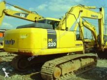 excavadora de cadenas Komatsu usada