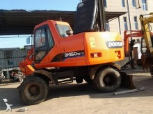 used Doosan wheel excavator