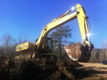used Furukawa track excavator