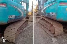 excavadora de cadenas Kobelco usada