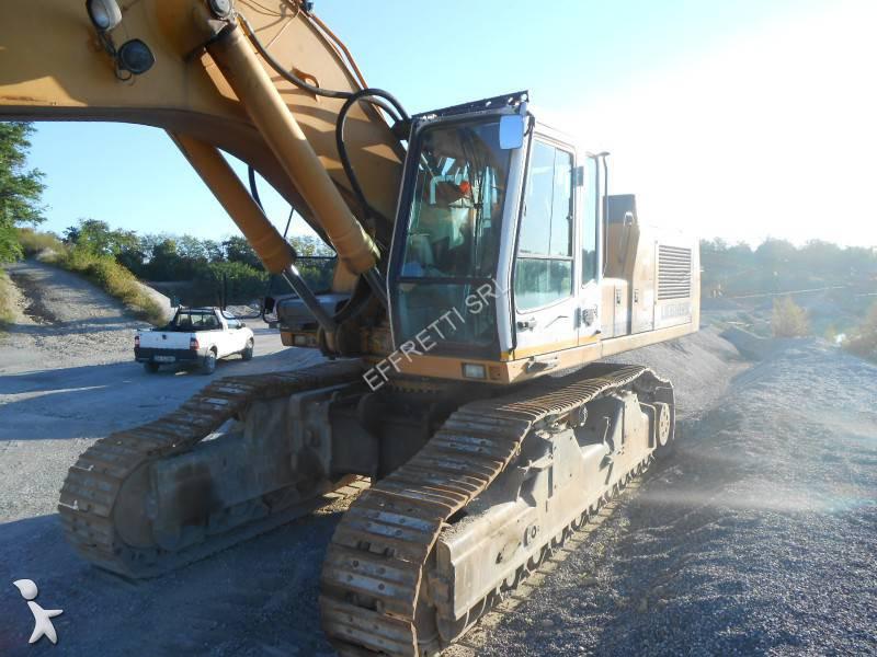 Escavatore cingolato liebherr r954 r954vh usato n 1138970 for Effretti usato
