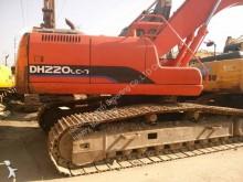 excavadora de cadenas Doosan usada