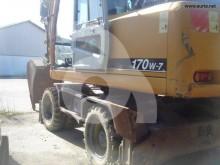 excavadora de ruedas Hyundai usada