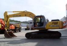 excavadora de cadenas New Holland usada