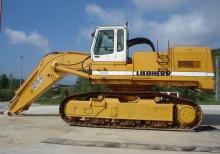 excavadora de cadenas Liebherr usada