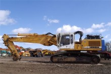 used Liebherr demolition excavator excavator