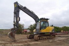 used Volvo track excavator