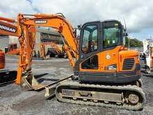 used Doosan mini excavator