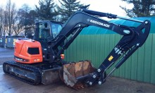 used Eurocomach mini excavator