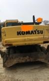 escavatore gommato Komatsu usato