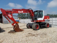 used O&K wheel excavator