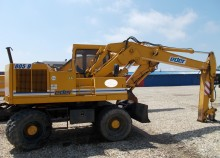 used Eder wheel excavator
