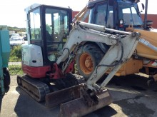 used Takeuchi mini excavator