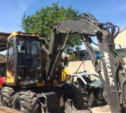 excavadora de ruedas usada