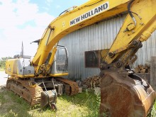 used New Holland track excavator
