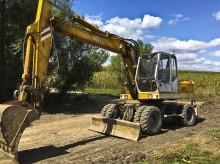 excavator pe roti O&K second-hand