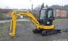 mini-escavadora Komatsu usada