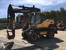 excavadora de ruedas Volvo usada