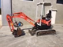 used Kubota track excavator