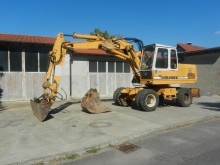 used Liebherr wheel excavator