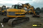 used JCB track excavator