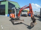 used Kubota wheel excavator