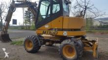 used Hydrema wheel excavator