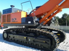 new Hitachi track excavator