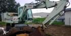 excavadora de ruedas Case-Poclain usada