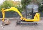 mini-escavadora Caterpillar usada