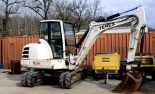 escavatore cingolato Terex usato