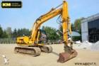 excavadora de cadenas JCB usada