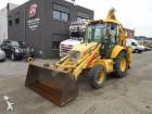 used New Holland wheel excavator