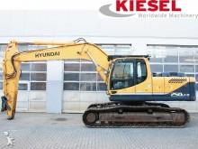 used Hyundai track excavator