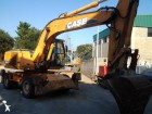 excavadora de ruedas Case usada