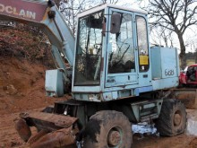 used Case wheel excavator
