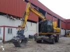 excavadora de ruedas JCB usada
