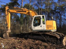 used Liebherr track excavator