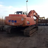Fiat Kobelco track excavator