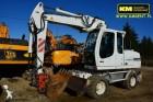 used Liebherr wheel excavator