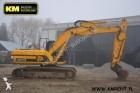 escavadora sobre rastos JCB usada