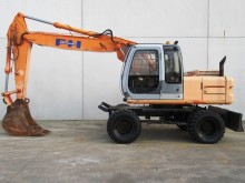 used Fiat-Hitachi wheel excavator