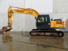 escavadora de largatas Hyundai
