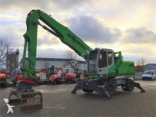 used Sennebogen wheel excavator