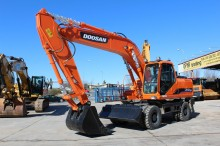 new Doosan wheel excavator