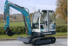 new Messersi mini excavator