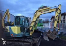 used Yanmar track excavator