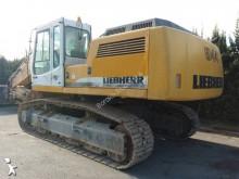 used Liebherr industrial excavator