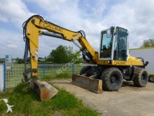 used Gallmac wheel excavator