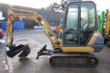 mini-excavator Case second-hand